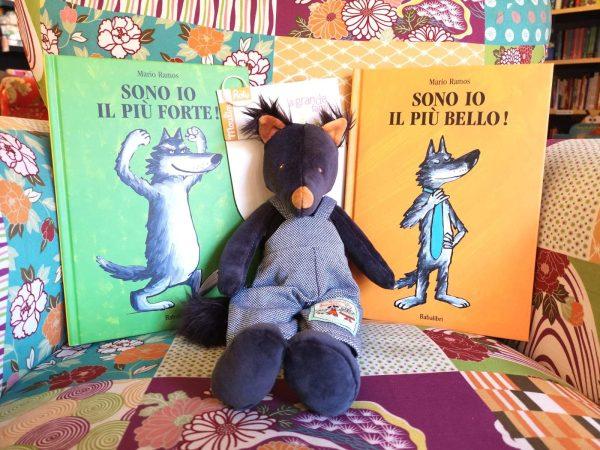 Kit Piccolo Lupo - libro+peluche
